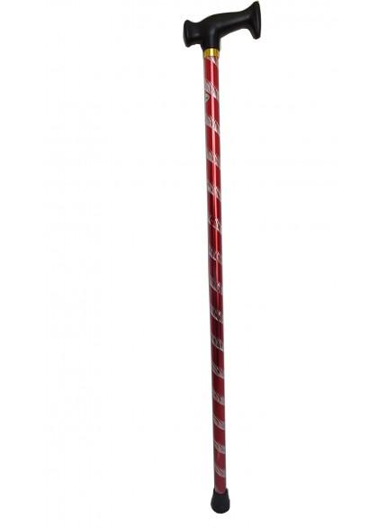 baston takımı kırmızı desenli